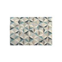160*230羊毛手工几何地毯(网易严选)