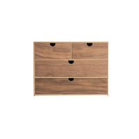 日式木质收纳盒 3层(网易严选)