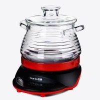 巴泰BT5100A玻璃电炖锅预约煲汤锅 煮粥锅3升、3.5升、4升